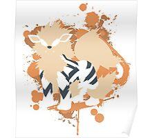 Arcanine Cutout (Pokemon) Poster
