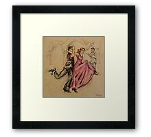 Flamenco Fusion  Framed Print