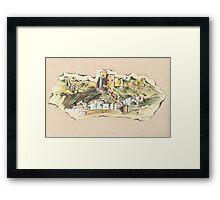 Almería Castle or Alcazaba de Almería Framed Print