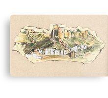 Almería Castle or Alcazaba de Almería Metal Print