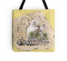 The Virgin of the Sea of Almería or la Virgen del Mar de Almería Tote Bag