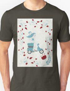 vespa couple Unisex T-Shirt