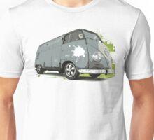 VW Split screen - Green Paint Splash Unisex T-Shirt