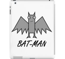 BAT-MAN iPad Case/Skin