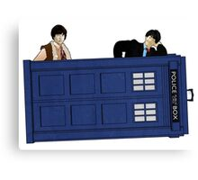 The Second Doctor and Jamie Canvas Print
