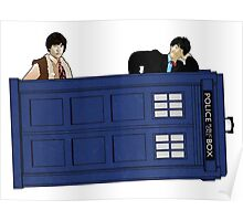 The Second Doctor and Jamie Poster