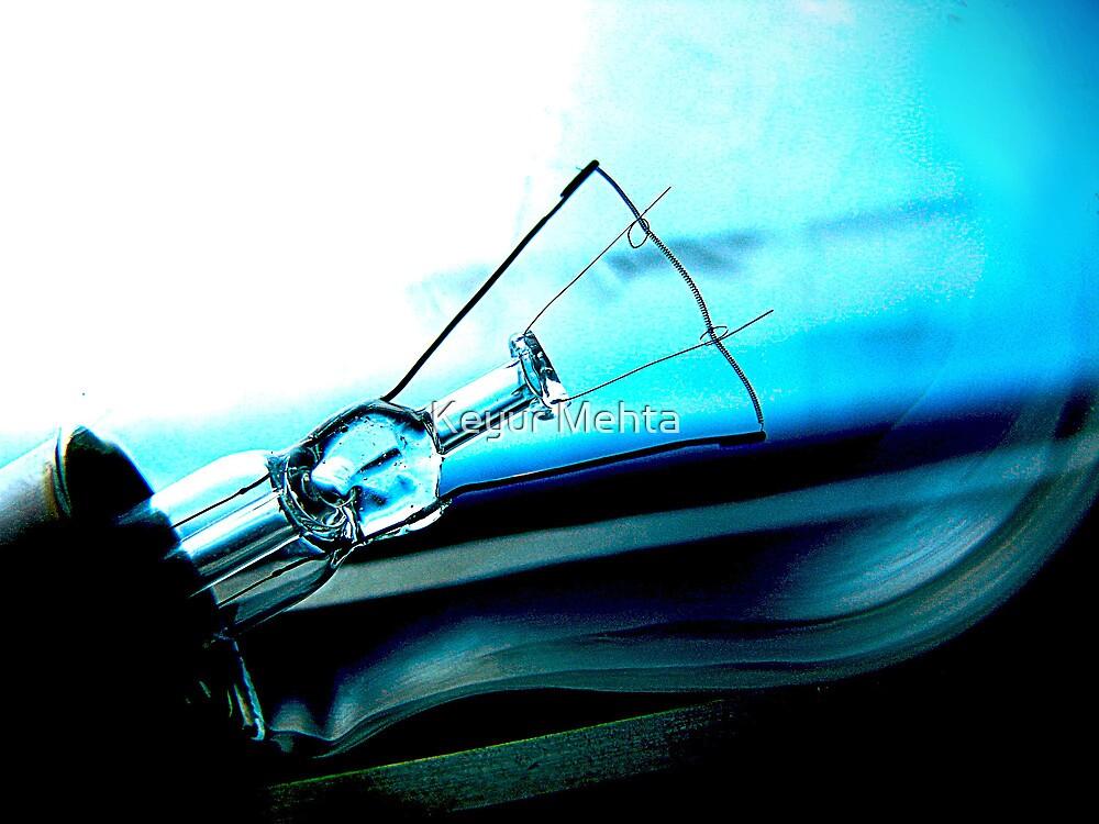cool blue by Keyur Mehta