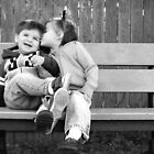 Laughter and kisses by Tracy Friesen