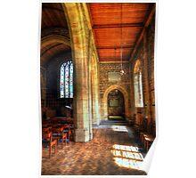 St Leonard Church - Downham Poster