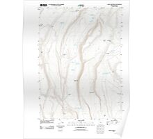 USGS Topo Map Oregon Rock Camp Draw 20110816 TM Poster