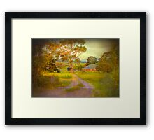 Before It's Gone - Nairne, Adelaide Hills, South Australia Framed Print