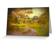 Before It's Gone - Nairne, Adelaide Hills, South Australia Greeting Card