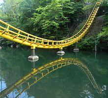 Rollercoaster Reflection by rosaliemcm