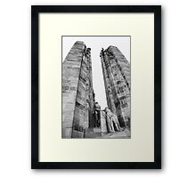 The Canadian National Vimy Memorial  Framed Print