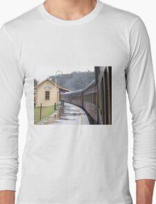 top piont......zig zag railway Long Sleeve T-Shirt
