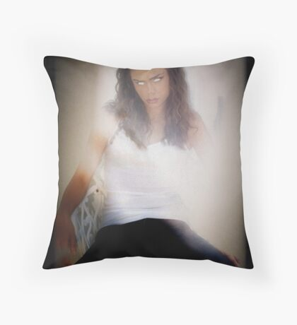 Please Alice Throw Pillow