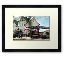 Karmøy| Forlatt øyeblikk #7 Framed Print
