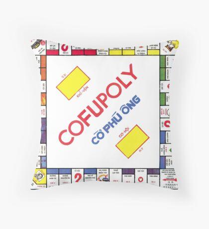 Vietnamese Monopoly Game Throw Pillow