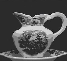 Pitcher and Bowl by WeeZie