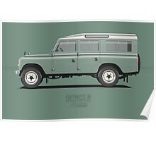 Series 3 Station Wagon 109 Light Green Poster