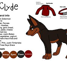 Clyde Referance sheet by CrazyClyde