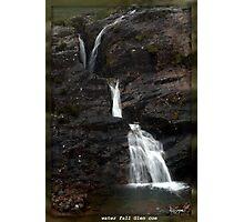 glen coe water fall Photographic Print