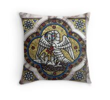 Pelican in its Piety Throw Pillow