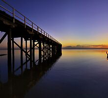 """One Saturday Morning"" Urangan Pier, Hervey Bay, Qld by Rob Morrow"