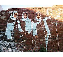 SISTERS ..A weekend of streetart in the U.K.  Photographic Print