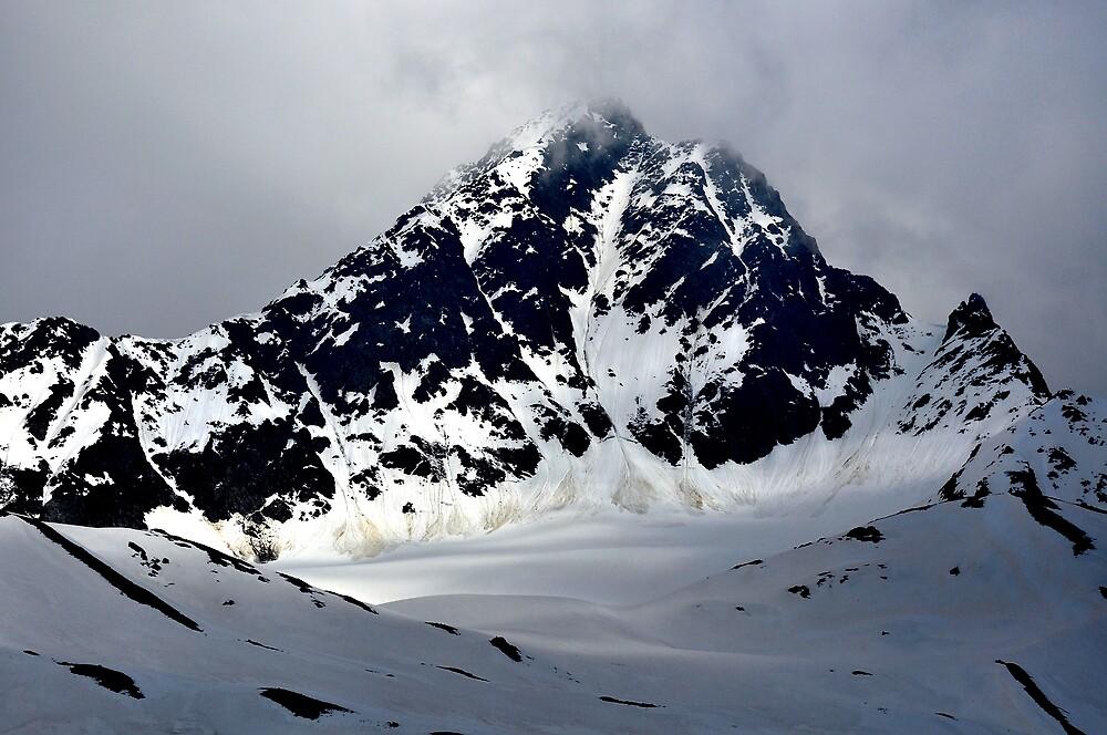 Mountain in Alps by Dean Bailey