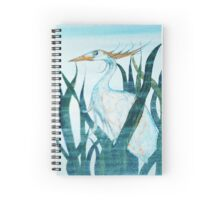 Herons in Reeds II Spiral Notebook