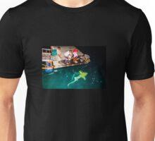 Black tip reef shark feeding in the Maldives Unisex T-Shirt