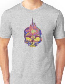 Rainbow Skull 3 Unisex T-Shirt