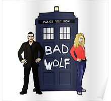 The Ninth Doctor and Rose Poster