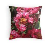 Flowers in June Throw Pillow