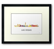 Las Vegas Skyline WB1 Framed Print