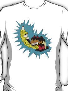 American Zombanana Split  T-Shirt