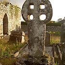 Dunnamaggan Celtic Cross,Dunnamaggan,Co.Kilkenny,Ireland by Pat Duggan