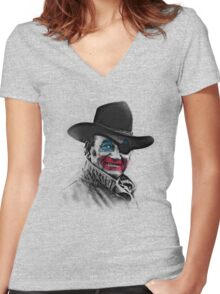 John Wayne (Gacy) Women's Fitted V-Neck T-Shirt