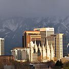 Downtown Salt Lake City, Utah by Ryan Houston