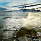 Utah Lake - Winter by Ryan Houston