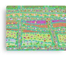 Produce Pattern Canvas Print