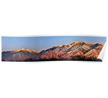 Wasatch Mountain Range Poster