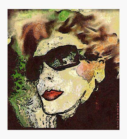 I'm a BadLady (ex BadGirl) Photographic Print