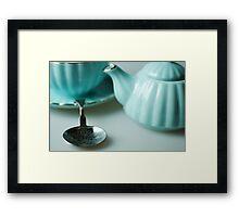 Tea.1 Framed Print