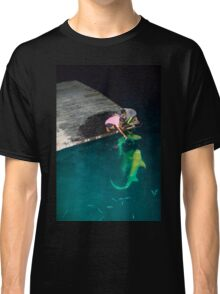 Shark feeding in the Maldives - Black tip reef shark Classic T-Shirt