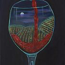 Moonlight In a Wineglass by Mikki Alhart