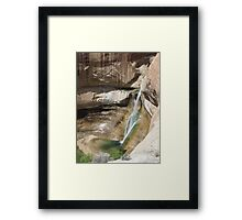 Lower Calf Creek Falls Framed Print