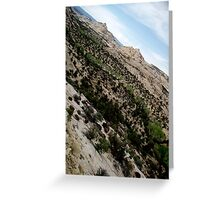 Dry Hollow Curves Greeting Card