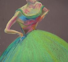 Dancing Girl by Belinda Baynes